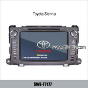 Toyota Sienna OEM radio Car DVD player, bluetooth, TV, GPS navigate