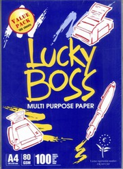 Lucky Boss A4 Copy Paper 80gsm/75gsm/70gsm