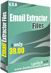 Quickly Extract email address from a  file  .